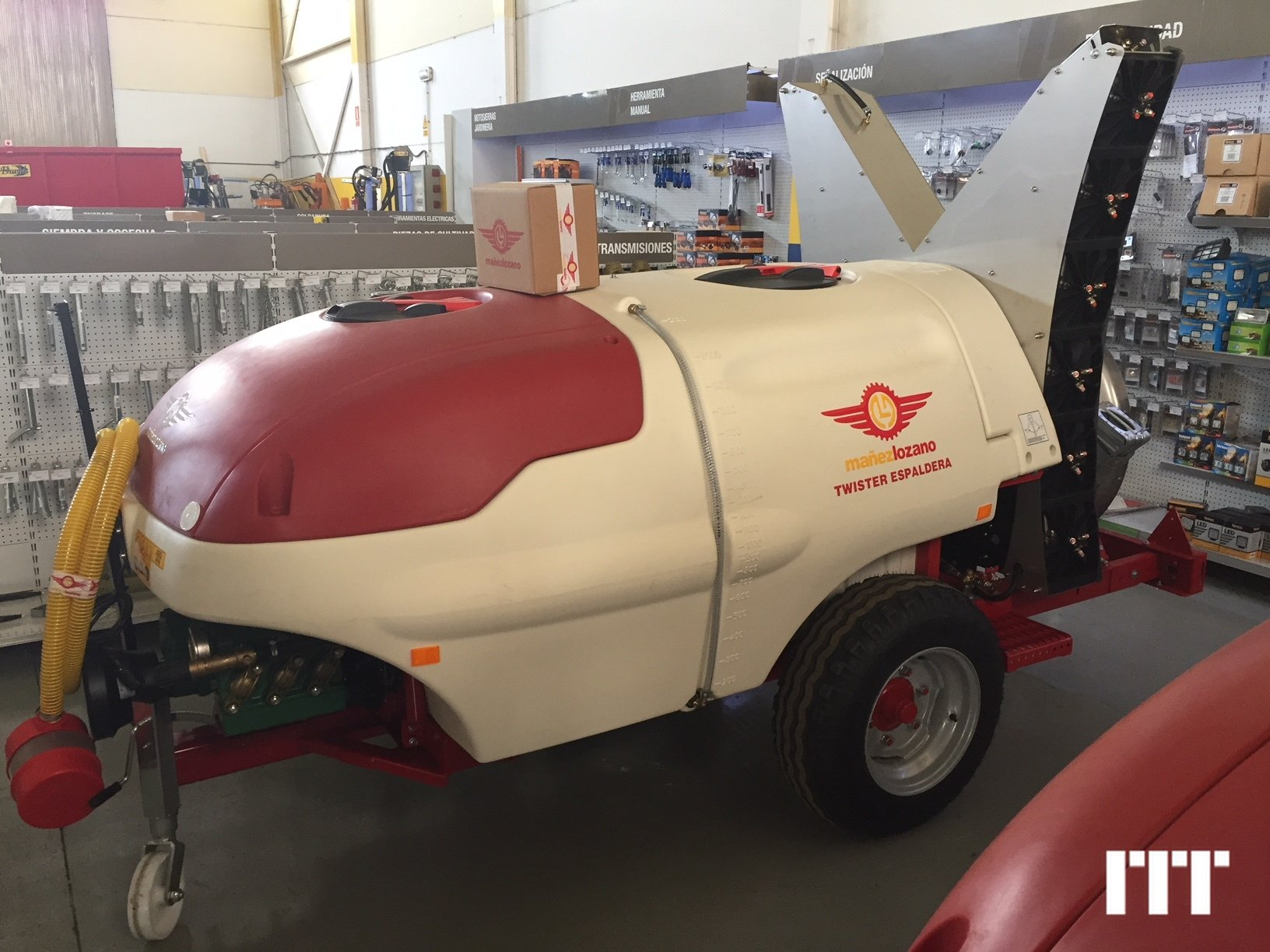 Trees sprayer Mañez y Lozano TWISTER 1500L - 1